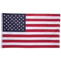5' x 3' 100% Oxford Nylon Embroidered USA Flag