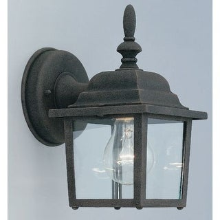 "Designers Fountain 2861-AG 1 Light 5.25"" Cast Aluminum Wall Lantern from the Quintessence Collection"