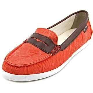 Cole Haan Pinch Weekender Round Toe Canvas Loafer