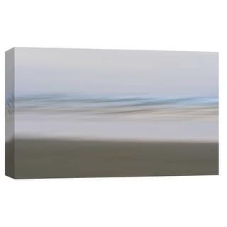 """PTM Images 9-101731  PTM Canvas Collection 8"""" x 10"""" - """"Ocean Beach Abstract 1, Copalis"""" Giclee Beaches Art Print on Canvas"""