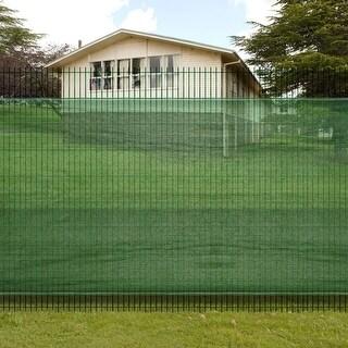 "vidaXL 3' 3"" x 16' 4"" Fence Windscreen-Privacy Mesh Screen/Net-Green"