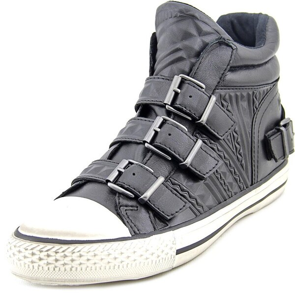 Ash Venom Women Leather Black Fashion Sneakers