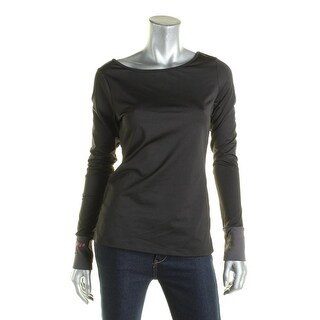 Jessica Simpson Womens Shirts & Tops Pull On Open Back - M