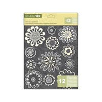 K&Co Studio 112 Sticker Dimensional Flower