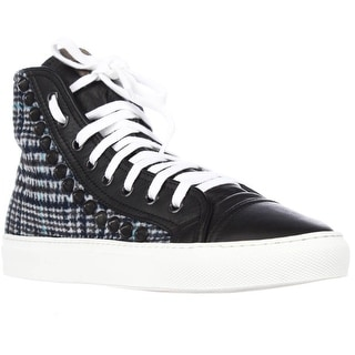 Studswar Eddy Studded Fashion Sneakers, Blue Black