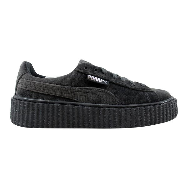 new product e3111 c2018 Shop Puma Women's Creeper Velvet Glacier Gray Rihanna Fenty ...