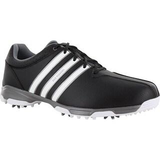 Adidas negro hombres zapatos de golf para menos
