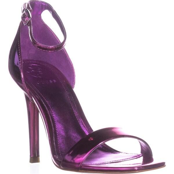 Guess Celie3 Square Toe Evening Sandals, Medium Pink - 5 us