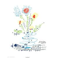 ''Summer Bouquet'' by Pablo Picasso Floral Art Print (26 x 20 in.)