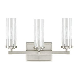 "Donny Osmond Home 8043-150 3 Light 14.5"" Wide Bathroom Fixture from the Emery Collection"