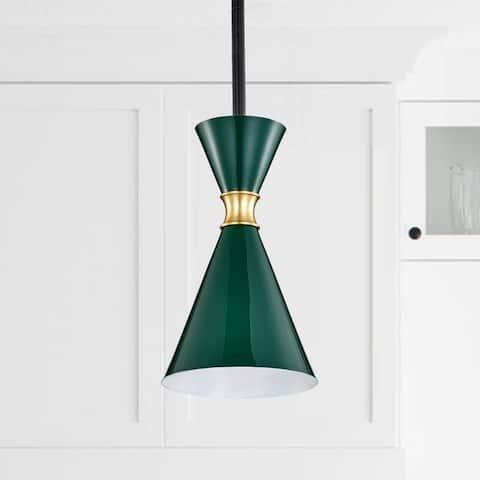 1-Light Hanging Pendant Light with Adjustable Height