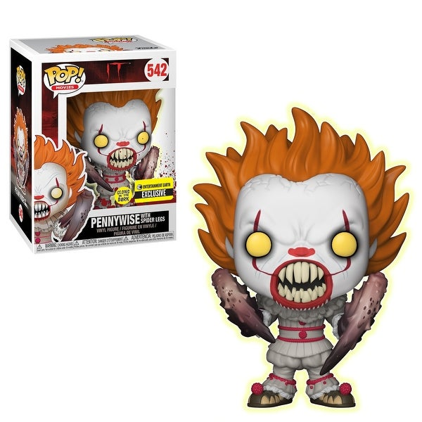 FunKo POP! Movies IT Pennywise GITD Vinyl Figure, EE Exclusive - Multi