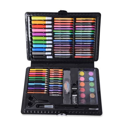 Deluxe Art Supply Set All in One Childrens Painting Craft Asseccories - 13x1.5x8.5 inches