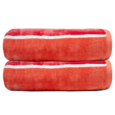 Colors Cabana, 100% Cotton, 500 GSM, Bath Towel