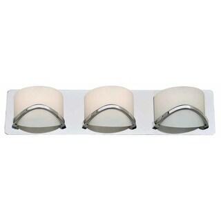 DVI Lighting DVP0543 Solstice Three-Light Bathroom Fixture