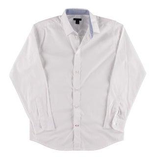 Tommy Hilfiger Boys Button-Down Shirt Collar Dressy - 16