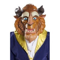 Disguise Beast Deluxe Adult Mask - Brown