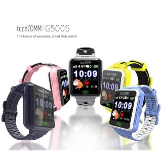 TechComm G500S Kids Smartwatch GPS Fitness Tracker Call and Text