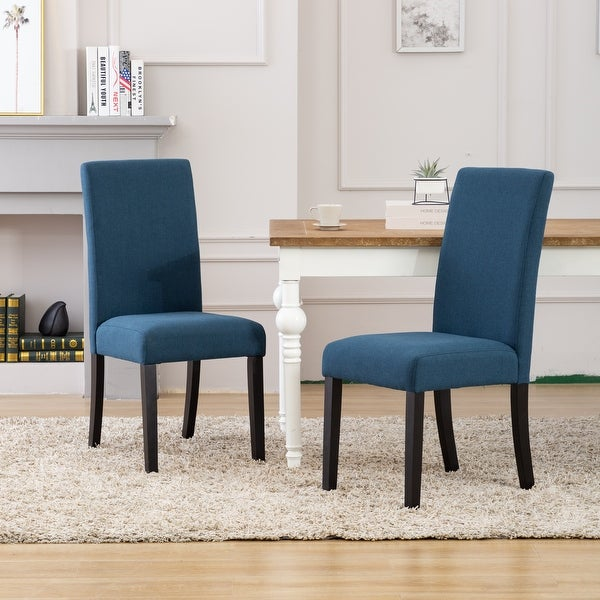 Grandview Upholstered Linen Fabric Dining Chair (Set of 2). Opens flyout.