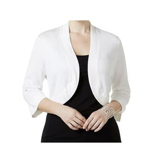 Quick View. Was  15.98.  2.40 OFF. Sale  13.58. Jessica Howard White Womens  Size 3X Plus Open-Front Cardigan Sweater 4d5e80f57