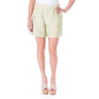 Vivetta Womens Brocade Double Pleat Dress Shorts - 44