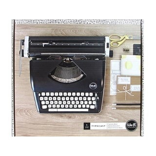 We R Memory Typecast Typewriter Black