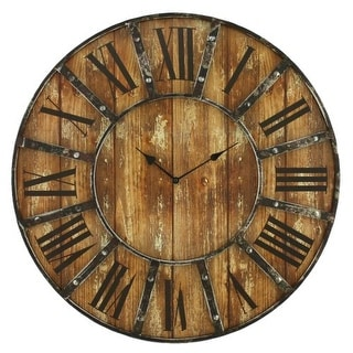 Aspire Home Accents 6471 Edmonson Wall Clock