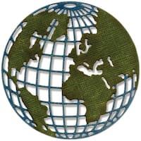 Mini Globe - Sizzix Thinlits Dies By Tim Holtz