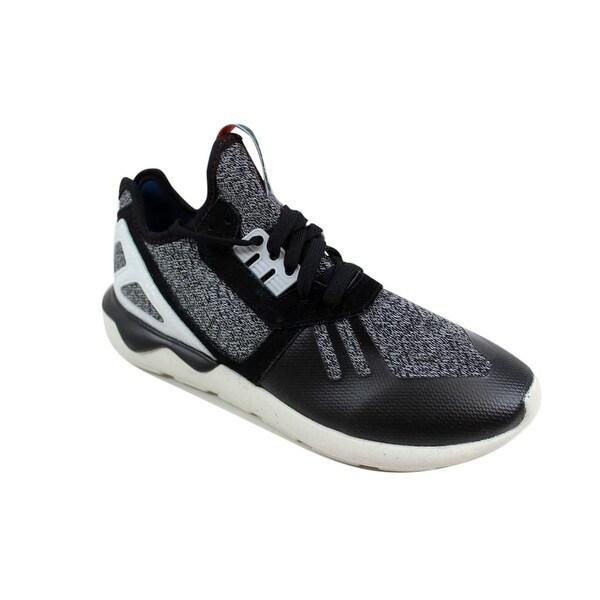 Shop Adidas Men's Tubular Runner Black/Onix-