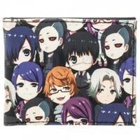 Tokyo Ghoul Chibi Characters Bi-Fold Wallet - Purple