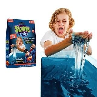 SLIME Gelli Baff - Superman Blue , Bathtime Fun 150g, 5.3oz