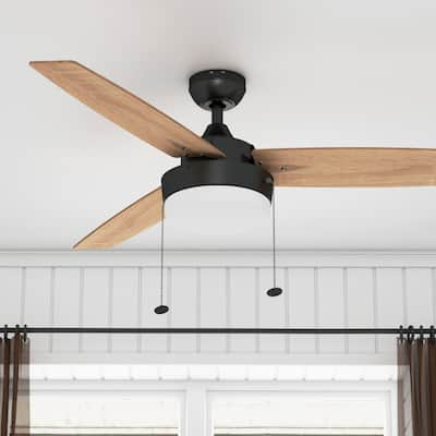 Copper Grove Andreas 52-inch Espresso LED Ceiling Fan with 3 Barnwood Blades
