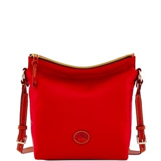 Dooney & Bourke Nylon Small Dixon (Introduced by Dooney & Bourke at $148 in Feb 2017) - Red