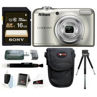 Nikon Coolpix A10 Digital Camera with 16GB Card and Bundle