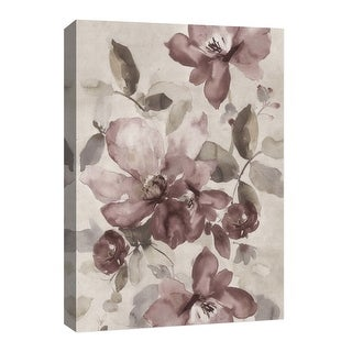 """PTM Images 9-126659  PTM Canvas Collection 8"""" x 10"""" - """"Aquarela Flower V"""" Giclee Flowers Art Print on Canvas"""