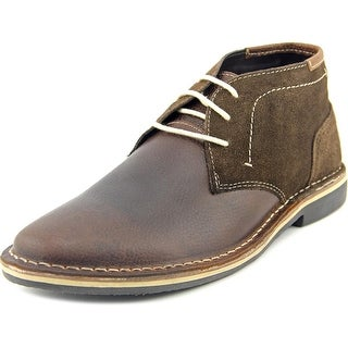 Steve Madden Henrie Round Toe Leather Oxford