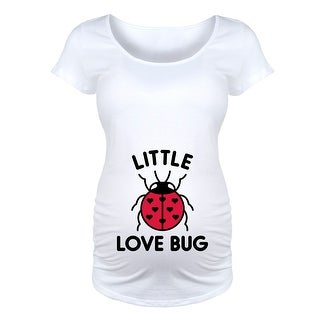 Little Love Bug  - Maternity Scoop Neck Tee