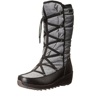 Kamik Womens Merlot Snow Boots Faux Lined Waterproof