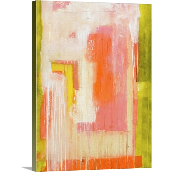 """Jasmine Summer"" Canvas Wall Art"