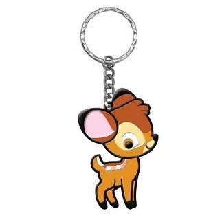 "Disney Cuties Soft Touch PVC Key Ring: ""Bambi"" - Multi"