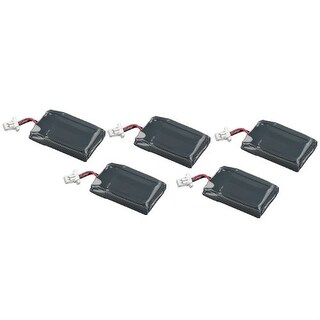 Battery for Plantronics 86180-01 (5-Pack) Battery for Plantronics 86180-01