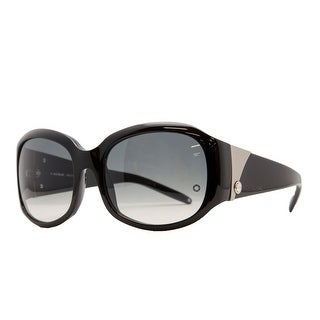 Mont Blanc MB 222/S 0B5 Black Oval Sunglasses - 56-18-135