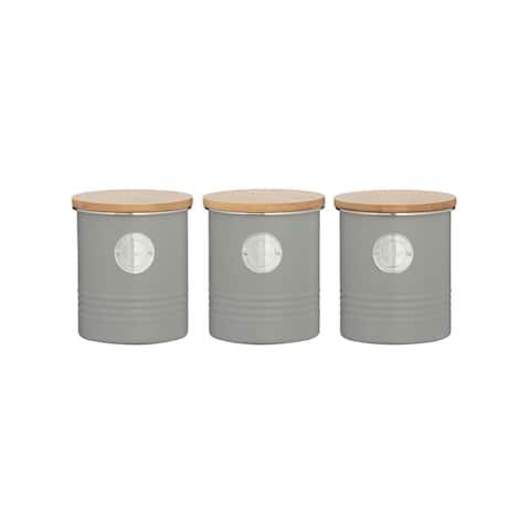Living Grey Coffee/Tea/Sugar Set