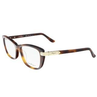 Salvatore Ferragamo SF2719 214 Tortoise Rectangle Optical Frames