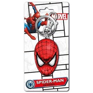 Marvel Spider-Man Head Colored Key Ring - Multi