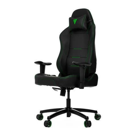 """Vertagear PL1000 Wide backrest/seat Premium Gaming Chair - Recommended height & weight : Up to 6'2"""" & 240lb"""