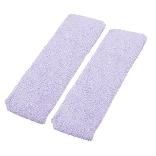Unique Bargains 2 Pcs Elastic Fabric Spa Head Scarf Hair Band for Lady