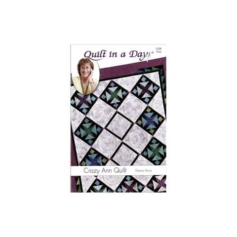 Quilt in A Day Crazy Ann Quilt Ptrn
