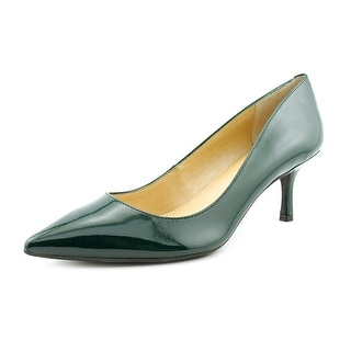 Marc Fisher Pacca3 Women Pointed Toe Synthetic Green Heels