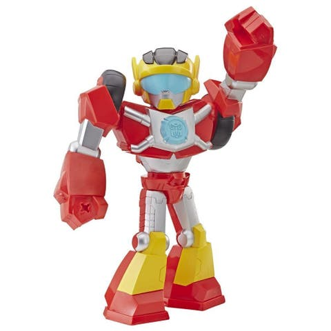 Transformers Rescue Bots Academy Mega Mighties Hot Shot 10-Inch Action Figure